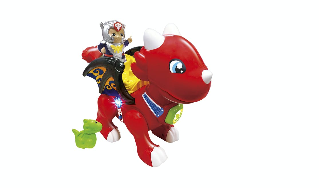 Tut Tut Copains, William Gentil Dragon flamme, Vtech, 35 €