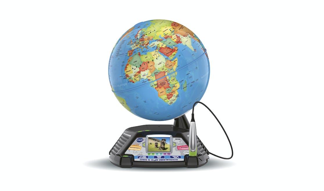 Globe vidéo interactif, Vtech, 100 €