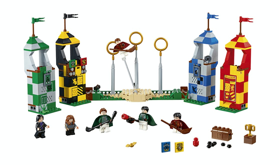 Le match de Quidditch, Lego Harry Potter, 44,99 €.