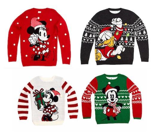 Les pulls de Noël Disney