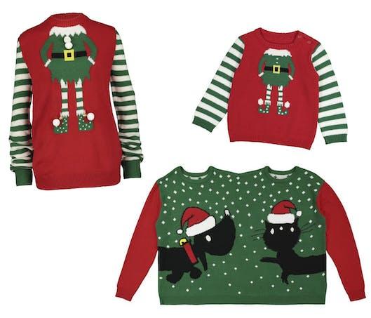 Le pull de Noël lutin ou le pull double chez Hema