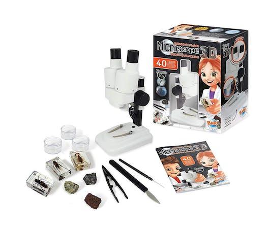 Le microscope 3S avec loupe binoculaire