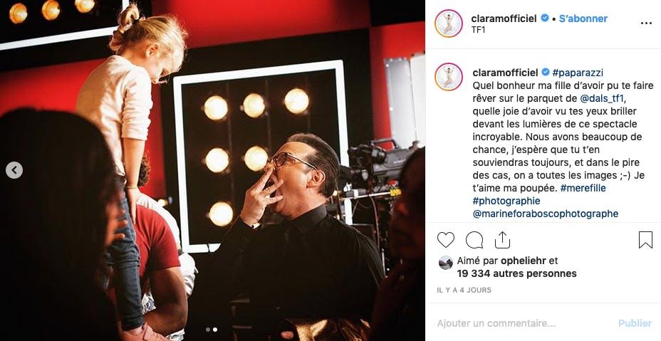Des photos rares, la star a toujours protégé sa fille des médias