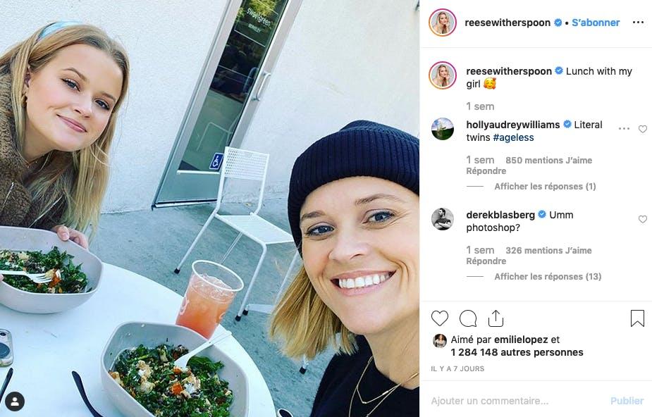 Reese Witherspoon : qui est la mère, qui est la fille ?
