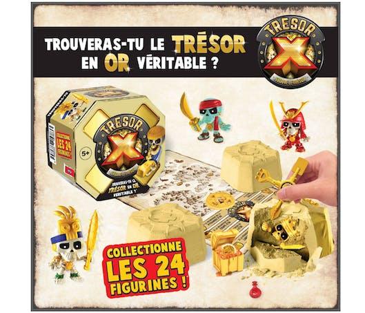Trésor X : une chasse aux trésors pour les enfants