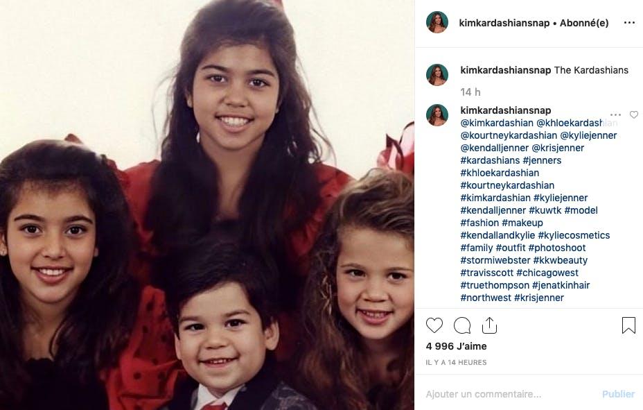 La famille Kardashian AVANT la chirurgie...