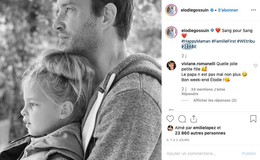 Elodie Gossuin : père et fille