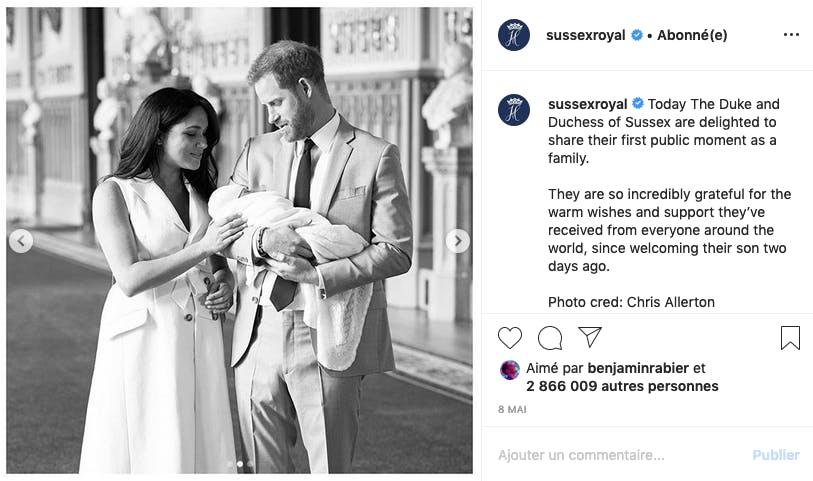 Meghan Markle et le Prince Harry parents : naissance la plus attendue de l'année