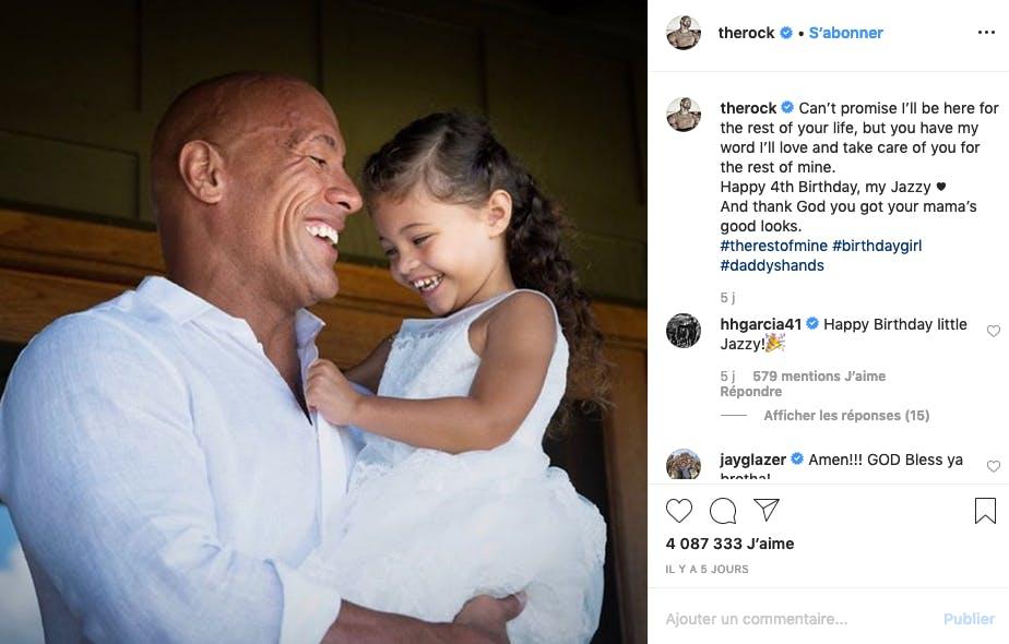 The Rock : papa le plus cool de l'année