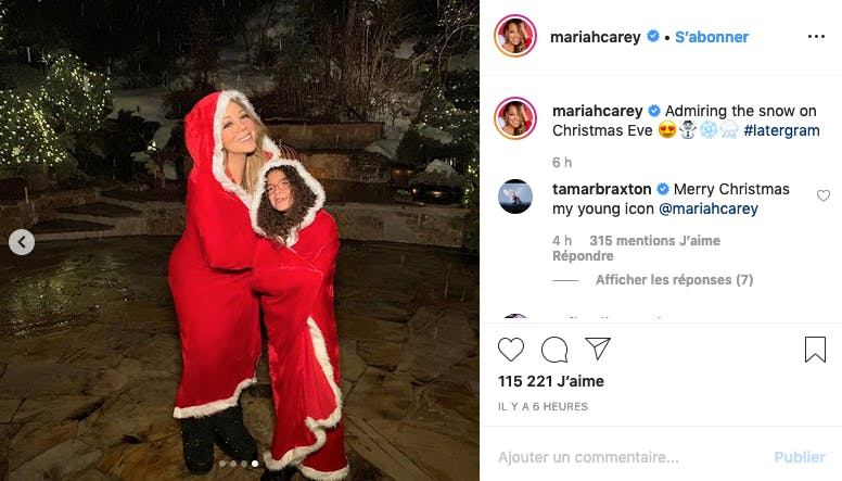 Mariah Carey : All I want for Christmas....