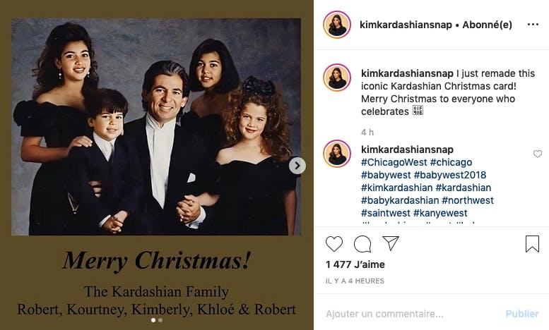 Photo vintage de Kim Kardashian