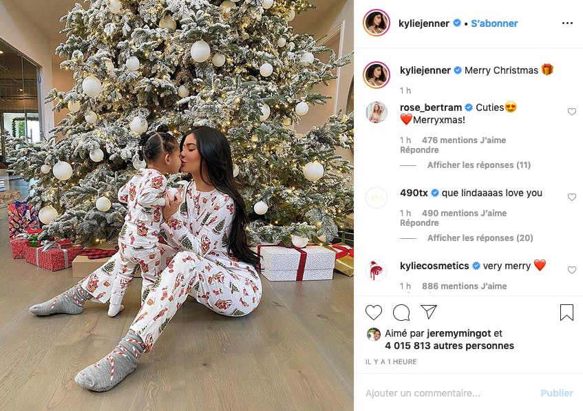 Kylie Jenner et sa jolie Stormi