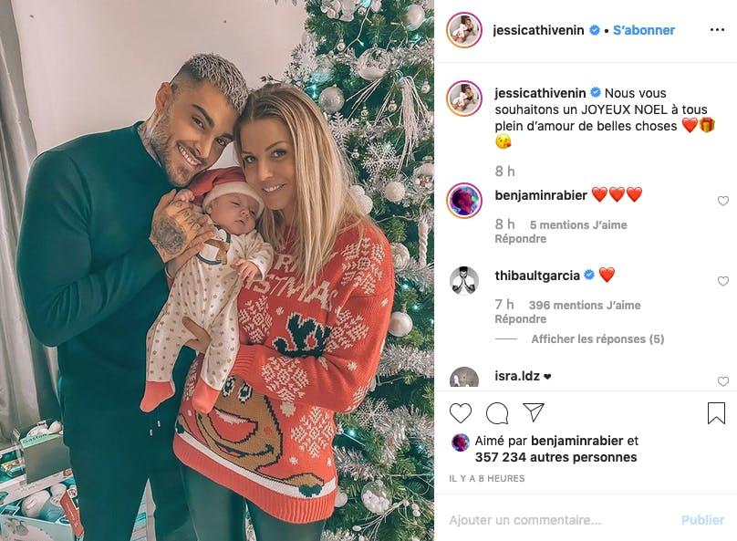 Premier Noël pour Jessica, Thibaut et leur petit Maylone