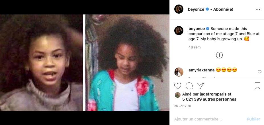 Beyoncé et Blue Ivy : sosies de l'année