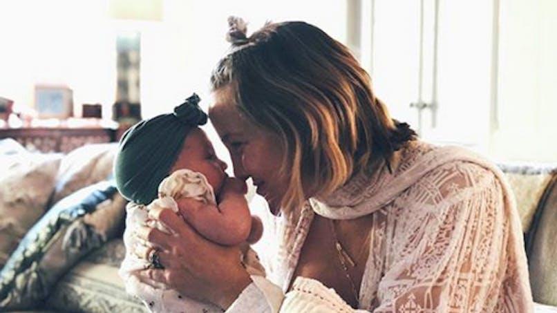 Allaitement : Kate Hudson s'offre une pause tendresse avec sa petite Rani Rose
