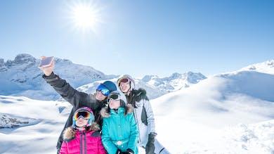 Partez skier en famille cet hiver