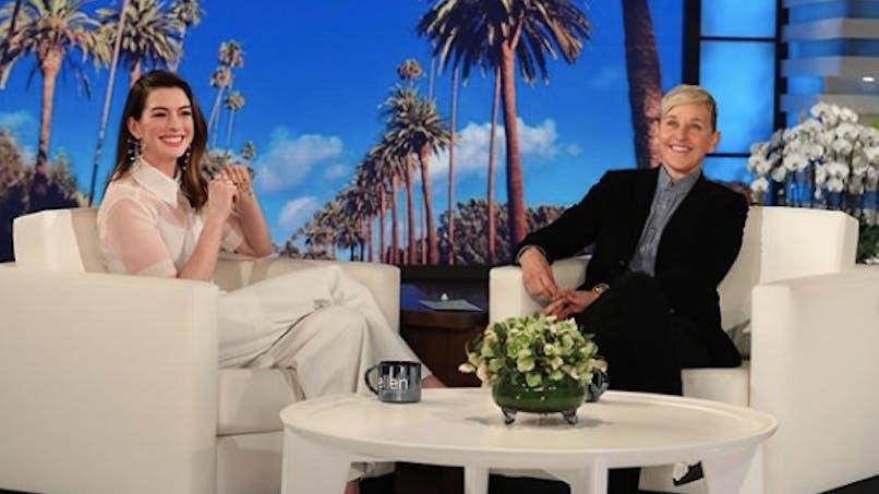 Anne Hathaway explique pourquoi elle arrête de boire pour son fils