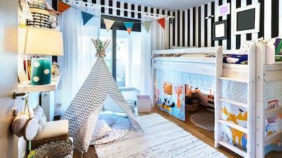 chambre d'enfant décoration petit prix pas cher