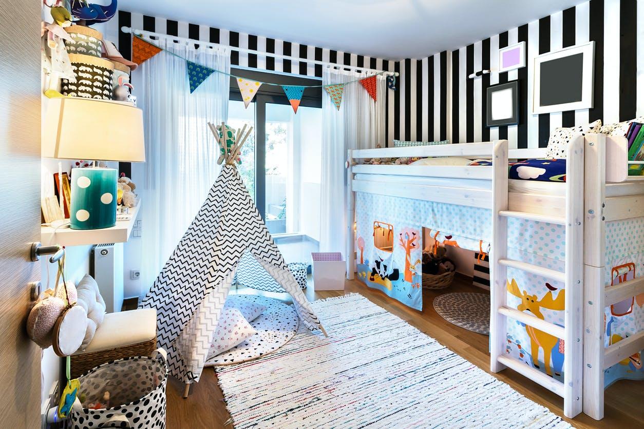 Chambre enfants  12 idées déco à petit prix   PARENTS.fr