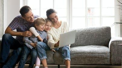 famille sur internet