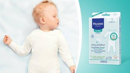 Le sous-pyjama apaisant STELATOPIA de Mustela