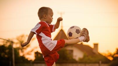 enfant et foot