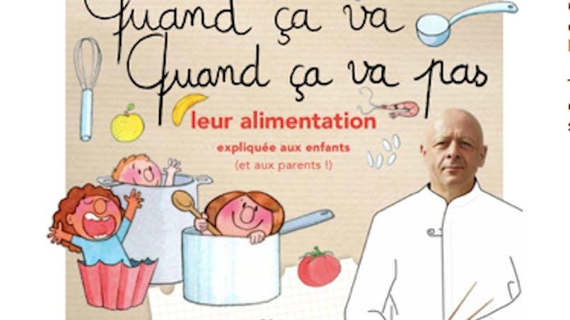 Thierry Marx apprend la bonne alimentation aux enfants