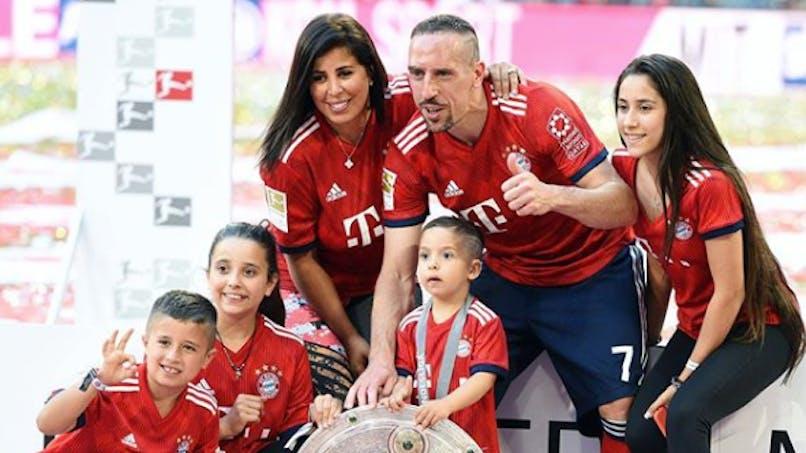 Franck Ribéry, papa pour la 5e fois, révèle le sexe du bébé