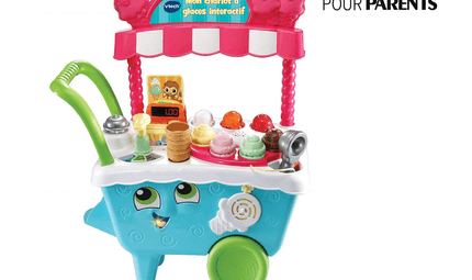Mon chariot à glaces interactif de VTECH BABY