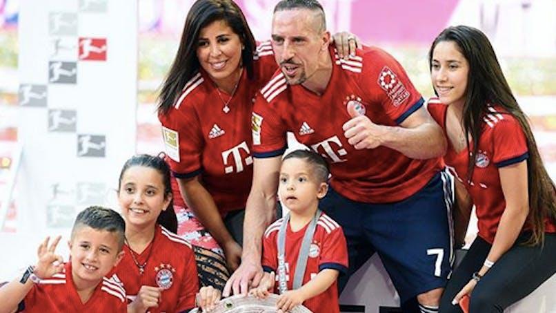 On connaît enfin le prénom du 5ème enfant de Ribéry