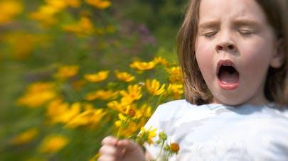 enfant et pollen