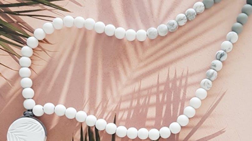 Maman : des bijoux à porter que bébé peut mâchouiller