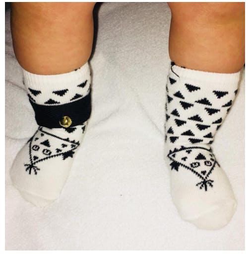 chaussettes bébé triangles chausséveil