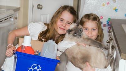 recycler ses produits en famille