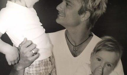 """David Hallyday fier de ses trois enfants : """"sympas, intelligents et merveilleux"""""""