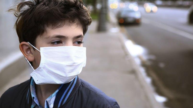 En France, trois enfants sur quatre respirent un air pollué selon l'Unicef