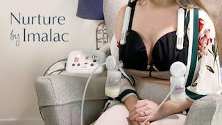 Nurture : le nouveau soutien-gorge d'allaitement d'Imalac qui stimule la production de lait