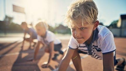 Le déclin de l'activité physique commence souvent dès l'âge de sept ans