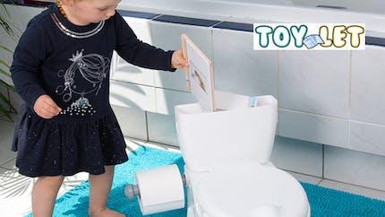 Toy-Let : un mini-WC pour enfant