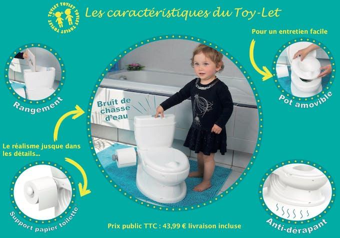 les avantages du pot Toy-let