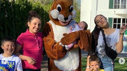 franck ribéry et ses enfants
