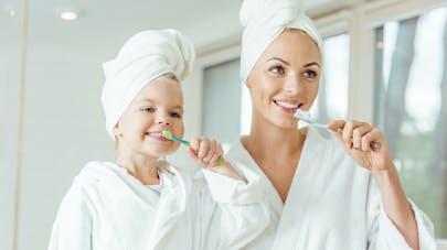 brossage des dents