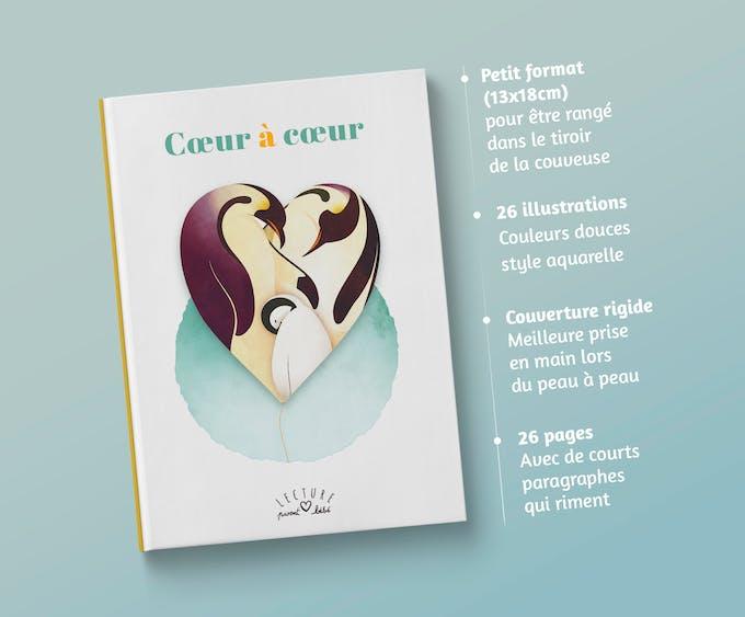 Couverture Livre Coeur à Coeur