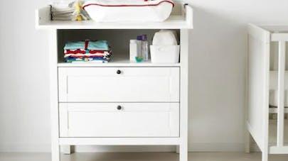 table langer ikea rappelle la commode sundvik apr s. Black Bedroom Furniture Sets. Home Design Ideas