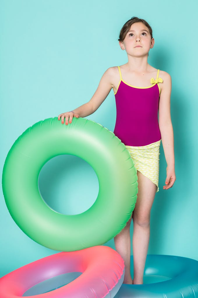maillot de bain anti UV une pièce fille les UltraViolettes
