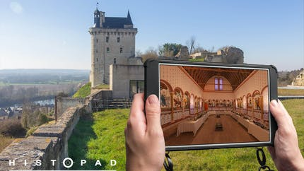 Visite virtuelle du passé grâce à l'Histopad en Indre-et-Loire !