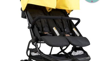 La poussette double Nano Duo de MOUNTAIN BUGGY