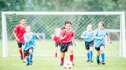 enfants et foot