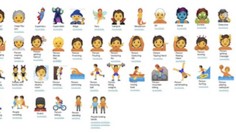 Emojis : Google en propose 53 non genrés