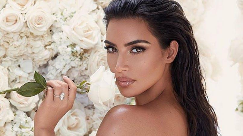 Kim Kardashian maman : découvrez le visage et l'étrange prénom de son bébé (photo)